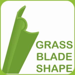 Form-Schaufel-Chemiefasergewebe-Gras des Nordamerika-populäres künstliches Gras-W