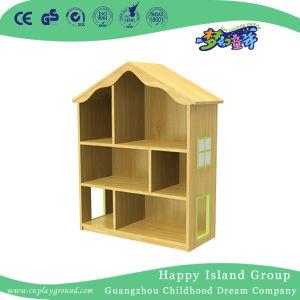 学校の家モデル子供の木の本のキャビネット(HG-4602)