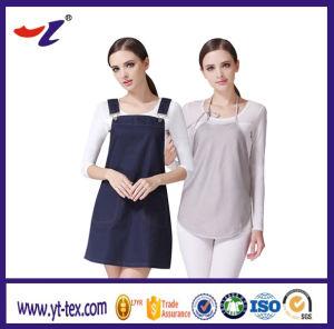 3310036bc El blindaje de onda electromagnética conductora de tejido de protección  radiológica de ropa para mujeres embarazadas