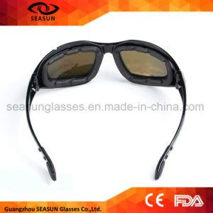 Engrenagem tática do exército Windproof ao ar livre da polícia de trânsito dos óculos de sol dos esportes