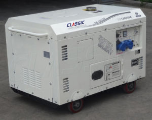 Fabrik-Preis-elektrischer Anfangsdiesel-Generator des Bison-(China) BS12000se 10kw
