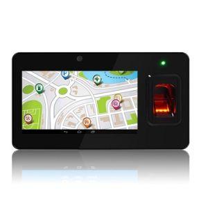 Lettore di schede facoltativo di multi dell'impronta digitale presenza terminale Android biometrica di tempo