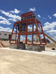 La arena de OEM de beneficio de la máquina para la empresa minera australiana