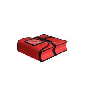 11 '' نيلون مسيكة يعزل حراريّة وجبة غداء بيتزا طعام تسليم مبرّد حقيبة في [ألومينوم فويل]