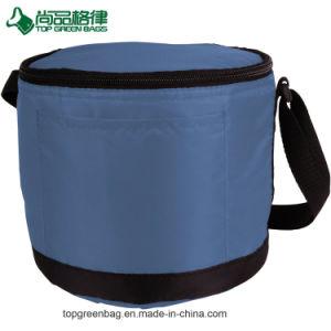 Custom aislada de gran capacidad refrigerador hielo redondo aislado de la bolsa de congelador