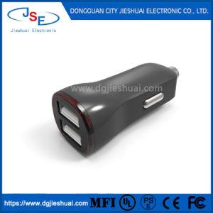 2 puertos USB cargador de coche 5V 3.6A Indicador LED para iPhone iPad, Samsung, LG, Motorola, teléfonos inteligentes, tabletas y más