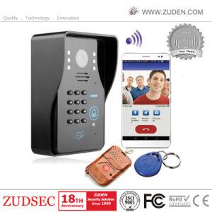 RFID Code-Tastaturblock WiFi drahtloses videotelefon der Tür-720p mit 7inch Touch Screen