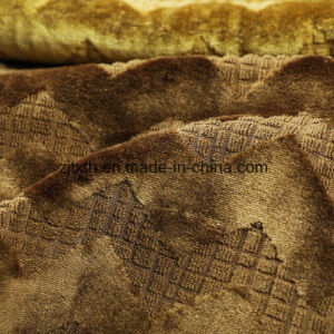Diseño de banda de oro Uphostery tela tejida (BK502)