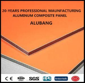 Для использования вне помещений Strong PE/ПВДФ платы дисплея/алюминиевых композитных панелей (АКТ) (ALB-006)