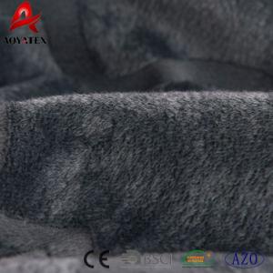 寝室セットのためにセットされる極度の柔らかい3PCSポリエステルフランネルの羊毛のベッド