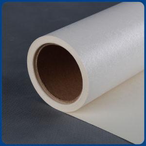 Eco溶媒壁ペーパー白い浮彫りになるインクジェット印刷材料の壁紙