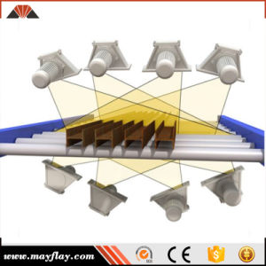 Chapa de aço da China H cruzamento automático de superfície Pre-Treatment Granalhagem Rolo de Limpeza da Máquina