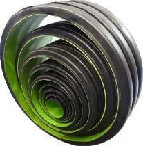 PE y PP y PVC Tubo ondulado de doble pared de la línea de extrusión