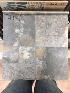 Houten kijk de Volledige Opgepoetste Verglaasde Tegel van het Porselein van de Vloer voor Badkamers