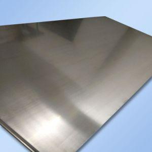 Una lámina de aluminio utilizado para los aviones, trenes, la construcción de las decoraciones
