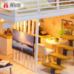 Dollhouse Kit Miniature Creative Handmade Les enfants et les enfants Décoration jouet éducatif