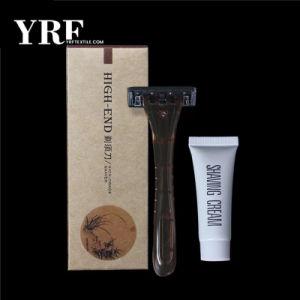 Seguridad de alta calidad hoja de afeitar de afeitar desechables Hotel