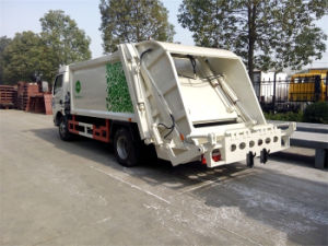I camion di trasporto dell'immondizia dei rifiuti M3 del camion 5cbm 6m3 7 dello spreco dell'immondizia del costipatore di Suzu 600p