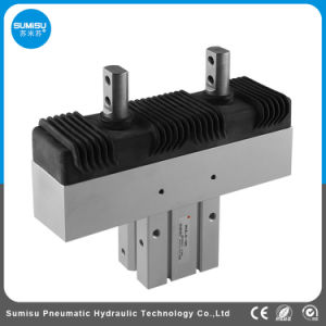 Dedo común Mini pinzas de aire del cilindro neumático de aire