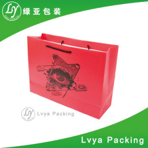 Zurückführbare Luxuxart druckte Geschenk-kundenspezifisches Einkaufen-Papierbeutel mit Ihrem eigenen Firmenzeichen-Entwurf
