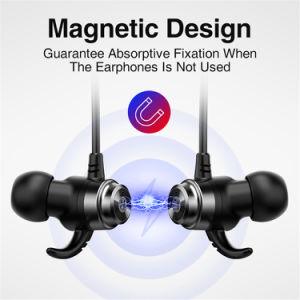 مغنطيسيّة لاسلكيّة رياضة سماعات مع [ميك] مجساميّة صوت جهير ضوضاء يلغي [بلوتووث] سمّاعة رأس