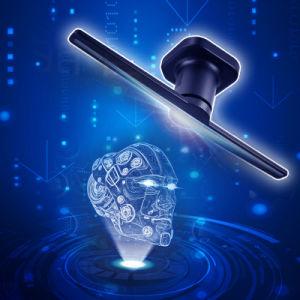 3D голограмма на дисплее LED электровентилятора системы охлаждения двигателя
