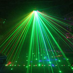 Bar&Disco&KTV&Clubのための全販売6の目のレーザ光線ライト