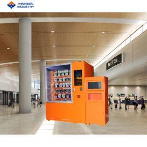 Distributore automatico su ordinazione personalizzato funzionamento della pizza di colore di formato della moneta