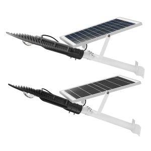 10W de energía solar Light-Controlled LED Sensor de luz de la calle con la pole resistente al agua para piscina Road