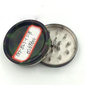 2 couches de métal de la fumée de meulage de camouflage Spice manuellement une meuleuse de fumée
