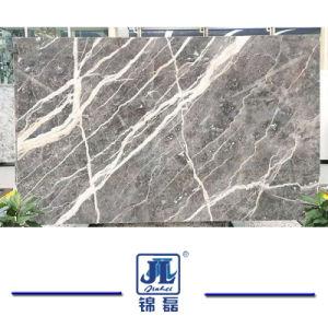 Het natuurlijke Opgepoetste Natuurlijke Grijze Marmer van de Steen voor de Tegels van de Bouw/van de Bevloering/van de Vloer/de Bekleding/de Decoratie/Het Bouwmateriaal van de Muur