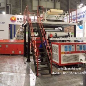 プラスチックSpcの連結のビニールPVCフロアーリングの生産機械を反スクラッチしなさい