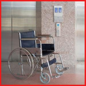 Edelstahl-Krankenhauspatient-medizinisches Bett-Höhenruder