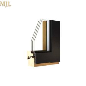 집을%s 알루미늄 단면도 강화 유리 경사 열려있는 밖으로 Windows