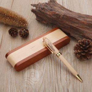 Plegable de Madera de lápiz y el logotipo de regalo de promoción cuadro personalizado