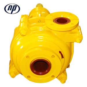 4/3D-Ahr 고무 부식성 저항하는 슬러리 펌프