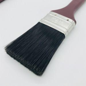 ポリプロピレンのハンドルが付いている安く黒いペットフィラメントの絵筆