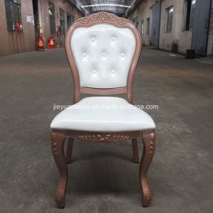 Luxuxaluminiumhochzeits-Ereignis-Möbel-Empfang, der Stuhl speist