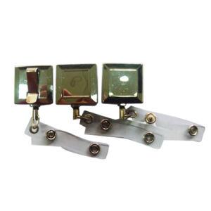 Kundenspezifisches Zink-Legierungs-Gold überzogene Abzeichen-Bandspule für fördernden Verkauf (009)