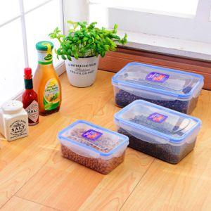 مجموعة [بب-فر] من 3 حبّ & جافّ طعام [ستورج كنتينر], يعشّق [فوود كنتينر] بلاستيكيّة/[فوود كنتينر] سدود