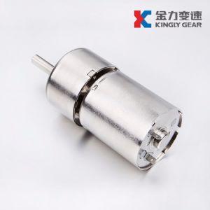 12V 37mm de diámetro cepillo motorreductor