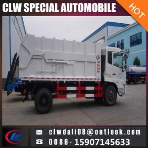 판매를 위한 4*2 Dongfeng 14cbm 압축 단미 쓰레기 트럭