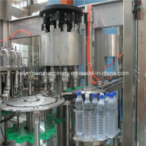 2018新しいデザイン水充填機またはプラスチックびんの飲料水びん詰めにする装置のプラント