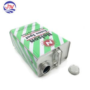 Rectángulo de metal 4L Lata de pintura de aceite del motor Motor