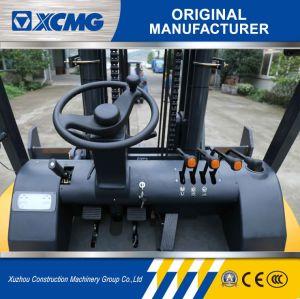 Nieuwe Diesel XCMG Vorkheftruck Diesel van 6 Ton Vorkheftruck met de Voorwaarde van de Cabine en van de Lucht