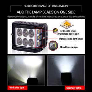 De alta potencia directamente de fábrica Super brillante luz estroboscópica camión tractor 3 pulgadas de 45W de la barra de luz LED de trabajo