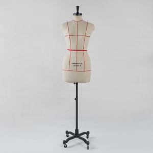 Закрепить мягкая полиуретановая пена PU бюст презентационный манекен на красной линии