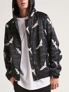 Comercio al por mayor Hoodie Primavera y Otoño Plaid Mens algodón camiseta personalizada