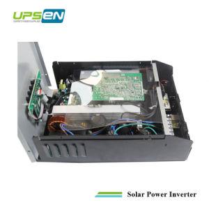 Onda senoidal pura inversor solar con tecnología de alta frecuencia PWM incorporada y cargador de PV controler