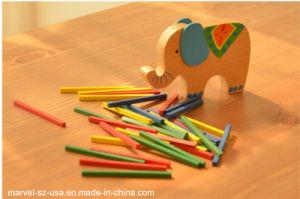Bebé Elefante Juguetes Educativos Juguetes de madera de bloques de equilibrio de camello